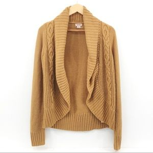 Mossimo Supply Co Open Cable Knit Sweater Size Med